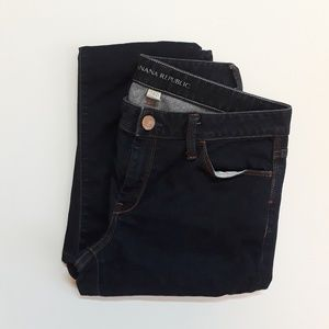 Banana Republic Dark wash Skinny Jean▪Size 28P